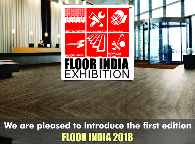 Most definitive expo for Industrial & Commercial Flooring: <b>07 – 09 June 2018</b>